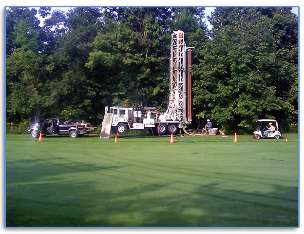 Environmental Well Drilling