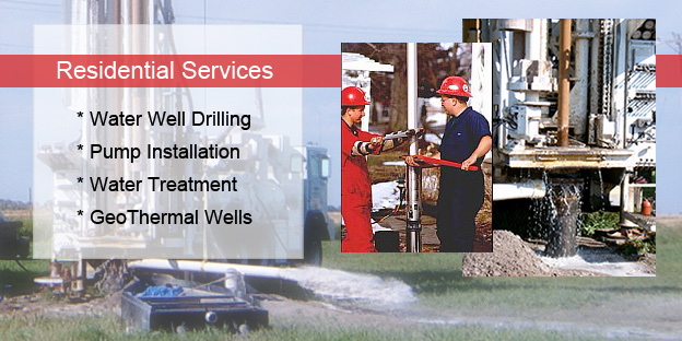 Residential Well Drilling